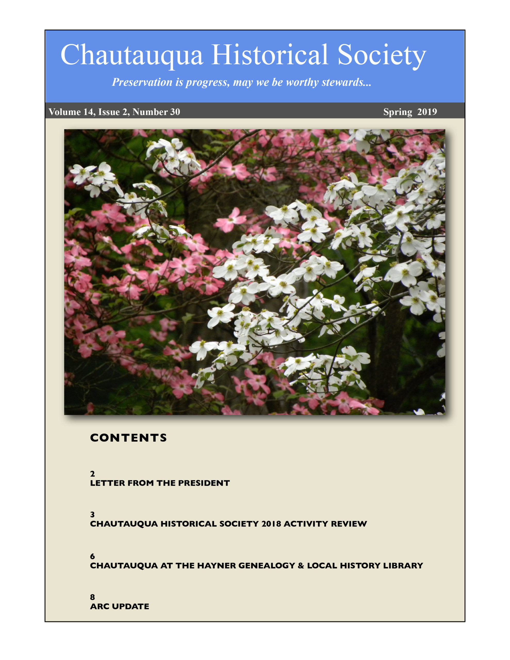 CHS Newsletter Spring 2019